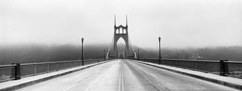 St. Johns Bridge, re-opening day