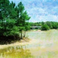 Across The Pond Art Prints & Posters by Florene welebny