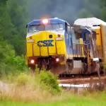 """CSX 7339 hauling"" by Pauljs"