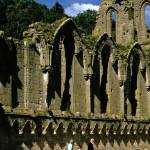 """Fountains Abbey in Summer 6"" by PriscillaTurner"