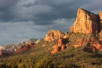 Sunshine on Sedona Rocks