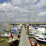 """Along C Pontoon in Ryde Harbour (24223-RDA)"" by rodjohnson"