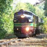 """Reading Railroad FP-7 902 , 50th Anniversary Train"" by StanFeldman"