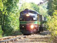 Reading Railroad FP-7 902 , 50th Anniversary Train