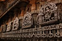 Stone Sculptures at Belur