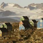 """Inuit Houses, Greenland"" by nickrussill"