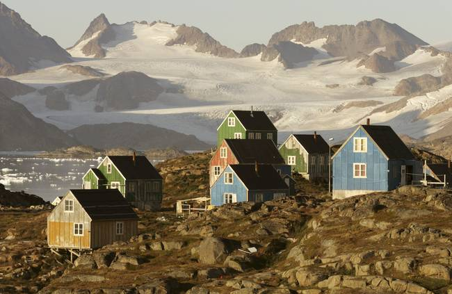 Inuit Houses Greenland By Nick Russill