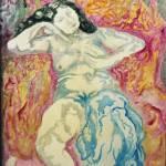 """nude in chair (Pascin)"" by Artshedbg"