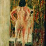"""""""Nude in front of the mirror"""" by Artshedbg"""