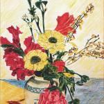 """""""Gladioli in Vase"""" by Artshedbg"""