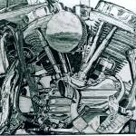 """""""Harley engine"""" by Artshedbg"""