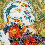 """""""Poppies and plates"""" by Artshedbg"""