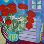 """Poppies Waiting For Me At Home DSC00008"" by sharyart"