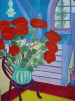 Poppies Waiting For Me At Home DSC00008