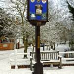 """Rolleston on Dove, Village Sign (27219-RDA)"" by rodjohnson"