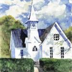 """Aldie Church Cropped"" by ediehamblin"