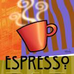 """Steaming Cup of Espresso"" by CherylDaniels"