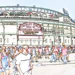 """wrigley field"" by studiobrian"