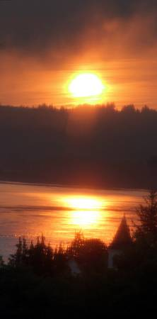 golden columbia river sunrise 4