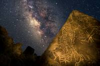 Milky Way Petroglyph