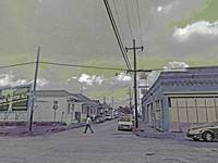 Street Scene, Faubourg Marigny, New Orleans