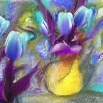 """Blue tulips"" by artforcancer"
