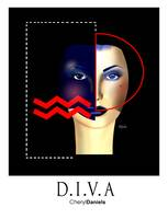 Two Faced Diva (white)