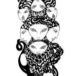 """Feline Totem"" by royguzman"