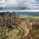 """View of Smith Rock State Park near Terrebonne, Ore"" by JonathanKingston"