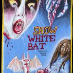 """Snow White Bat movie poster"" by swellzombie"