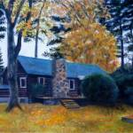 """Our Huddle Bay Cottage"" by ArtbyGenell"