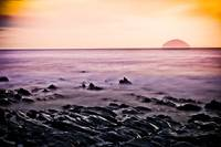 Ailsa Craig Sundown