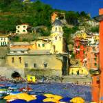 """Cinque Terre Treasure"" by marywhitmer"