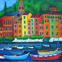 PortoFino Colors Art Prints & Posters by Lisa Lorenz