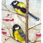 """Great tit"" by patricia_cz"