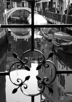 Looking Through Wrought Iron