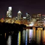 """Philly Skyline"" by DonaldBush"