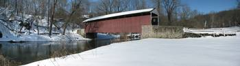 Covered Bridge in Lancaster County, PA