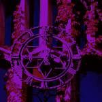 """Cobb Hall Clock"" by LeonSarantosArtist"