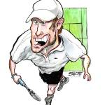 """Tennis / Rocket Roddick"" by PlayStrong"