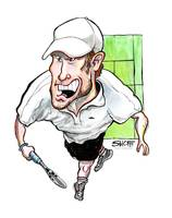 Tennis / Rocket Roddick