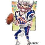"""Football / ""Tom Brady All-American"""" by PlayStrong"