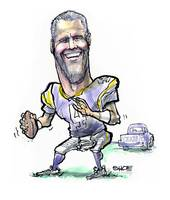 Football / Brett Favre Gunslinger