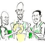 """Basketball / ""Celtics Big Three"""" by PlayStrong"