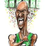 """Basketball / Kevin Garnett Celtics Hi-Octane"" by PlayStrong"