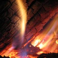 fire closeup  zacharyallenpilz photography Art Prints & Posters by Zachary Allen Pilz
