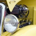 """Yellow Hotrod"" by TSEdwards"