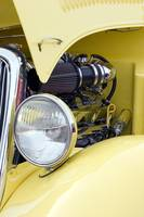 Yellow Hotrod