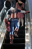 Superheroes Do Not Take the Stairs