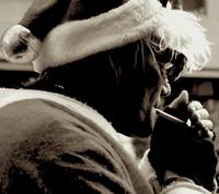 Smoke Break Santa